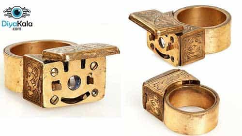 Spy camera ring