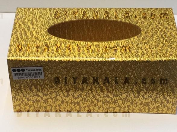 جعبه دستمال کاغذی با دوربین مخفی